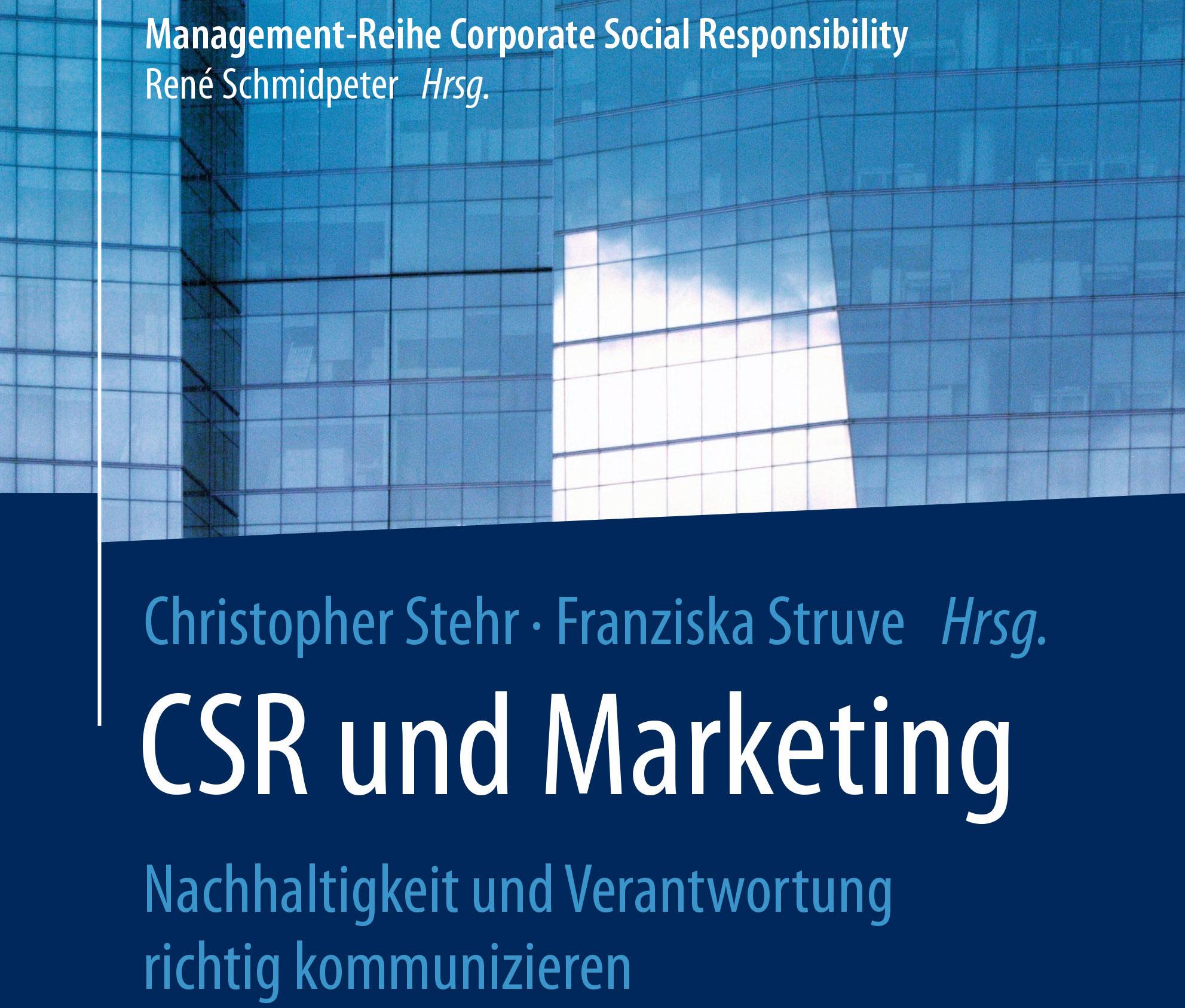 csr und marketing cover - Csr Beispiele